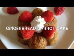 Gingerbread Carrot Cake Syn Free SLIMMING WORLD