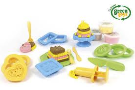 green toys öko knete set kuchenbacken