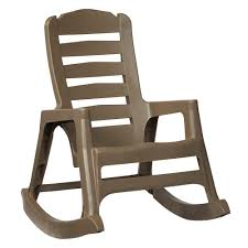 Home Depot Plastic Adirondack Chairs by Us Leisure Adirondack Mushroom Patio Chair 232983 The Home Depot