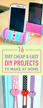 Handmade Craft Ideas For Home Dirt Cheap Amp Easy Projects To Make At Homemade Crafts And Decor Decorating