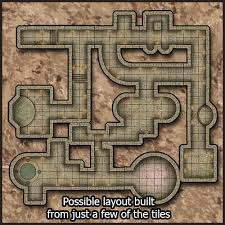 heroic maps modular kit dungeon heroic maps caverns