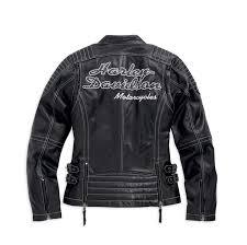 harley davidson leather jackets for women