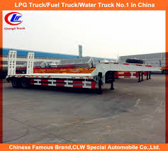 100 Length Of A Semi Truck China 40 Ton 2 Xle Lowbed Low Loader Trailer China