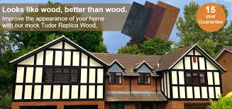 Mock Tudor House Photo by Replica Wood Ltd Tudor Boards Faux Wood Supplier Manufacturer