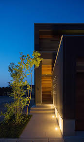 100 Japanese Modern House Design Architecture Romantic Evening View Of With Classy