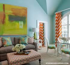 Teal And Orange Living Room Decor by Orange Living Room Curtains Decorating Mellanie Design