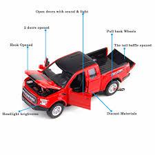 100 Truck Stuff And More F150 Raptor SVT Car Model 132 Scale Sound Light Pull