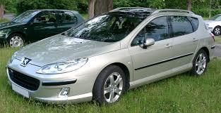 File Peugeot 407 SW front Wikimedia mons