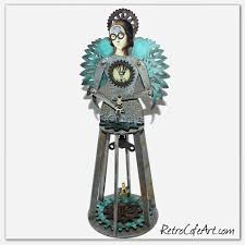 Viva Decor Inka Gold Uk by Retro Café Art Gallery Steampunk Santos Cage Doll Shrine Kits And