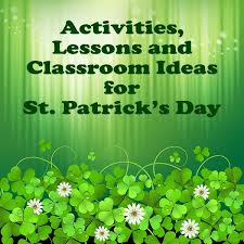 Fun Activities And Lesson Plan Ideas For St Patricks Day The Four Crafts