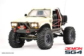 100 Rc Truck Bodys CrossRC SG4C Demon Crawler Kit W Hard Body 110 Scale 4x4