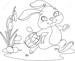 Easter Bunny Ears Coloring Pages Download And Print For Free Page