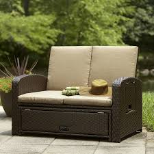 Sears Patio Furniture Ty Pennington by Ty Pennington Style Bowman Convertible Love Seat Lounge Bed Shop