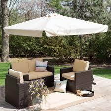 Solar Lighted Rectangular Patio Umbrella by Rectangular Patio Umbrellas With Solar Lights Patio Outdoor