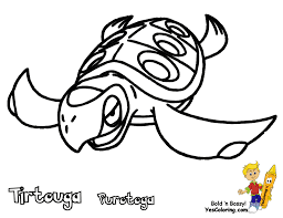 Powerful Pokemon Coloring Pages Black And White