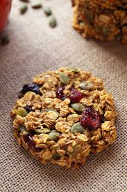 Pumpkin Flaxseed Granola Nutrition Info by Pumpkin Breakfast Cookies Gluten Free Clean Eating Leelalicious