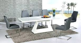 Modern Dining Table Chair White Set Perfect Contemporary Wood Chairs For