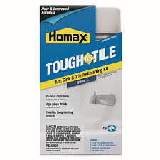 Bathtub Reglazing Houston Texas by Shop Tough As Tile White High Gloss Tub And Tile Resurfacing Kit