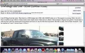 100 Craigslist Pickup Trucks Dodge Jribasdigitalcom