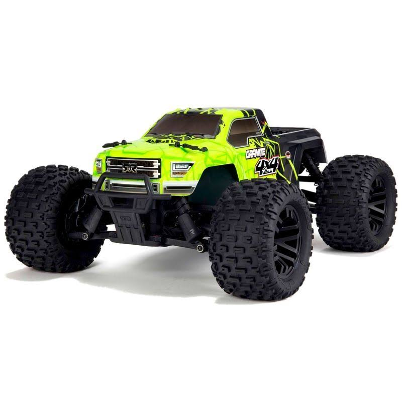 Arrma 1/10 Granite Mega 550 Brushed 4WD Monster Truck RTR, Green/Black