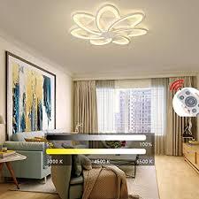 yaoxi modern led deckenleuchte dimmbar schlafzimmer