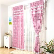 Purple Ruffle Blackout Curtains by Light Pink Blackout Curtains U2013 Teawing Co