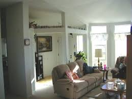1 Of 3 In A Panoramic View The Living Room Yes All Our Ceilings Towards Front