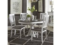 Cottage Park Cottage Two-Toned 5 Piece Pedestal Table Set By Liberty  Furniture At Hudson's Furniture
