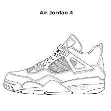 Air Jorn Coloring Book Great Shoe Lover Nike Jordan Sneaker Pdf Download Full Size