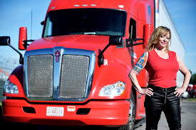 100 Hot Female Truck Drivers How This Trucker Became A Manhattan Socialite