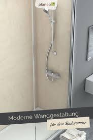 badezimmer wandgestaltung moderne wandpaneele als fliesen