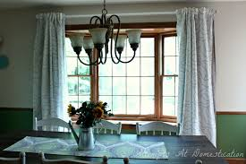 Bay Window New Dining Room Curtains