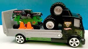 100 Monster Truck Grave Digger Videos GRAVE DIGGER Jam Travel Treads Hauler FpvRacerlt