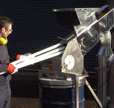 fluorescent crushers l recycling disposal