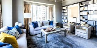 Blue Grey Living Room Captivating And Sofa Cushions Yellow Cushion
