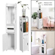 80cm höhen weiße hölzerne badezimmer kabinett lagerregal schrank toiletten regal möbel wish