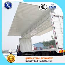 100 Truck Body Manufacturers Large Pass Iso Refrigerator Open Wing Van Trailer