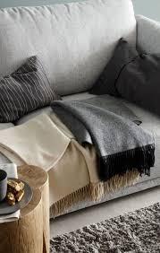 decke plaid knit cosy wohnzimmer idee kuscheldecke wolldecke