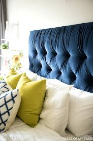 Amazon Canada King Headboard by How To Make A Tufted Bed Frame Upholstered Headboard Tutorial For