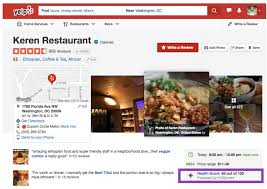 Yelp Is Adding Hygiene Scores To Restaurant Listings