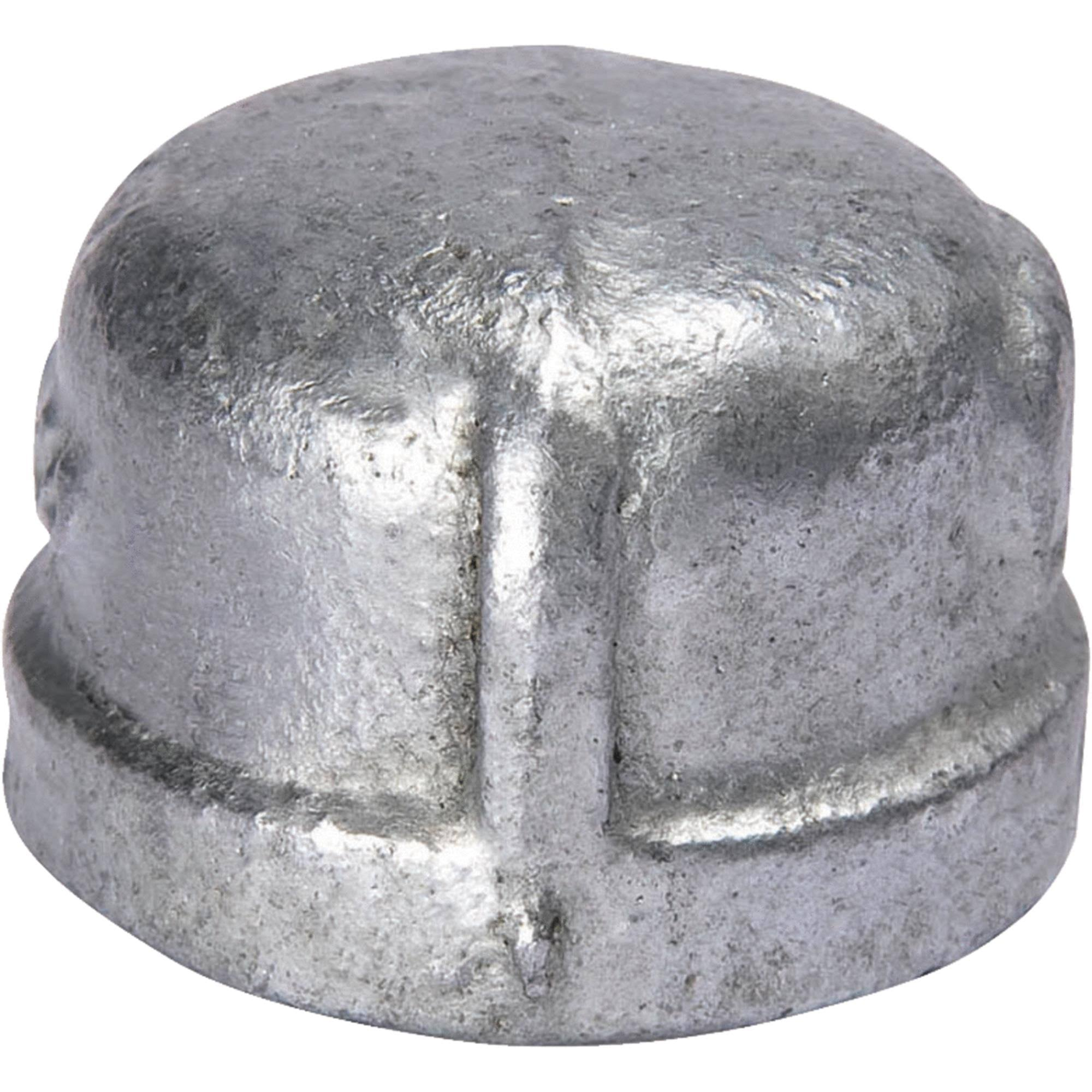 Mueller Industries Malleable Iron Galvanized Cap - 1/4in