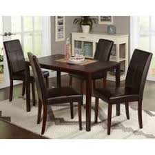 East West Furniture Henley 9 Piece Extension Dining Table Set With Capri Chairs Primitivediningrooms