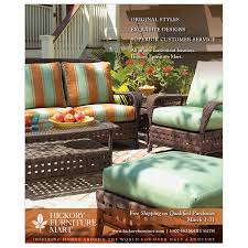 New Hickory Furniture Mart ad for WNC Magazine