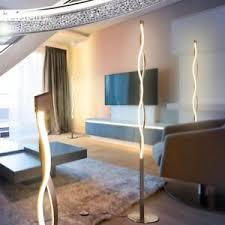 details zu led design steh len stand boden leuchten wohn schlaf zimmer raum beleuchtung