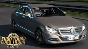 100 Benz Truck 2013 Euro Simulator 2 Mercedes CLS MOD 133 YouTube