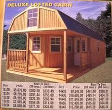 Storage Sheds Leland Nc by Rent To Own Storage Sheds Buildings Barns Cabins No Credit