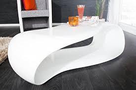 dunord design couchtisch sofatisch gravity weiß 110cm