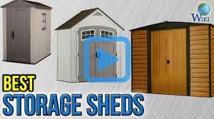 Arrow Woodridge Steel Storage Sheds by Top 9 Storage Sheds Of 2017 Video Review