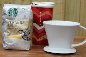 All You Need Are Some Of Your Favorite Beans A Coffee Filter Mug And Pour Over Brewer I Went For Starbucks Veranda Blend This Time Around
