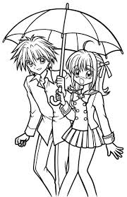 Coloring Pages Mermaid Melody 51
